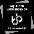 Jan van der Leek BV is een erkend leerbedrijf en leidt vakmensen op